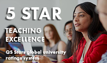 5 star for Teaching Excellence