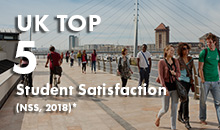UK top 5 for student statisfaction