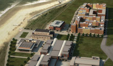 Image showing an artist's impression of the University's new Bay Campus