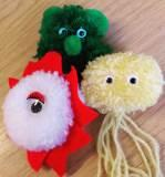 Oriel science pathogen pompoms
