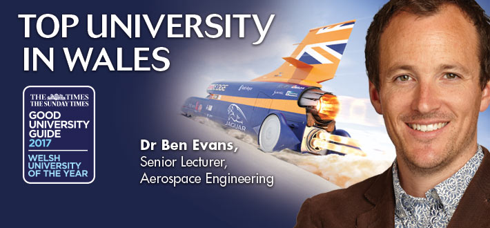 Image of Dr Ben Evans,  Senior Lecturer, Aerospace Engineering